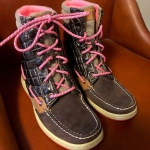 Sperry Top Sider High Top Boots